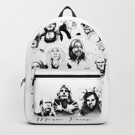 Music Faces Backpack