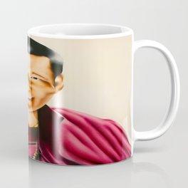 Smiling Tibetan Buddhist Monk oil painting  Coffee Mug