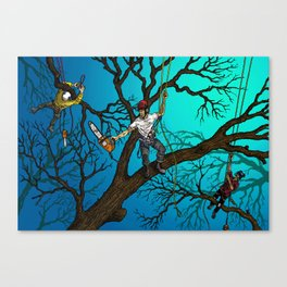 Tree Surgeons Canvas Print