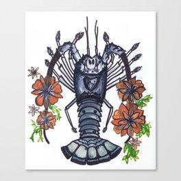 Bug Blossom Canvas Print