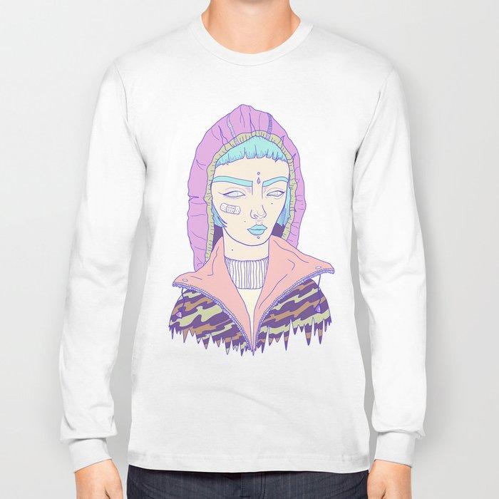 Portrait1 Long Sleeve T-shirt