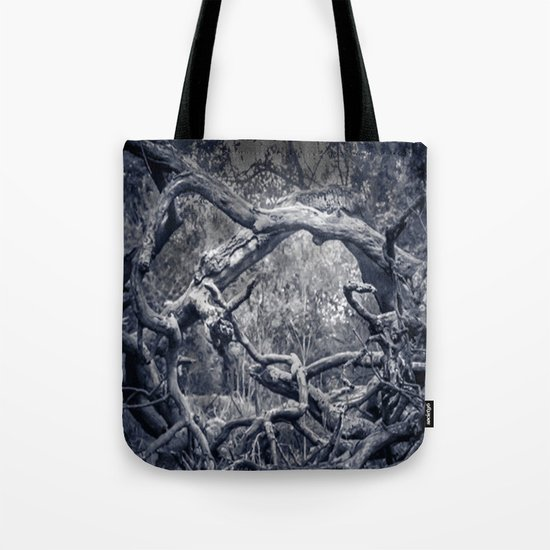 Twisted Window Tote Bag