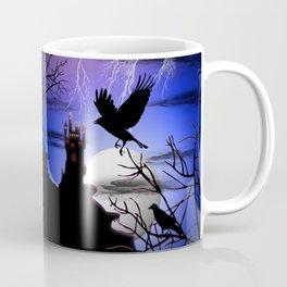 Raven's Haunted Castle Coffee Mug