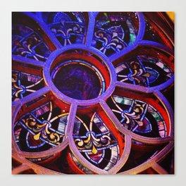 Flower Glass Canvas Print