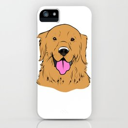 Smiling Golden  iPhone Case