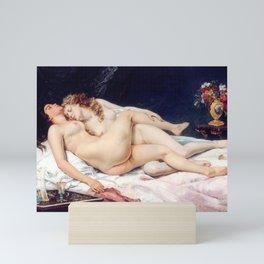NUDE ART : The Lovers Mini Art Print