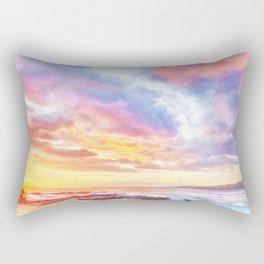 Calm before a storm Rectangular Pillow