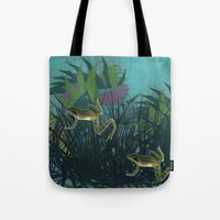frog Tote Bags featuring frog by giancarlo lunardon