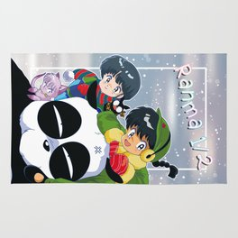 Ranma 1/2 Winter Edition Rug
