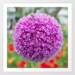 Flower (Love) Art Print