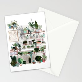 Plant Room Stationery Cards
