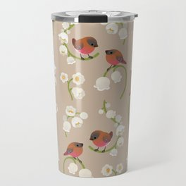 Brown-capped rosy finch Travel Mug