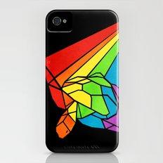 Striped Shapeshifting Turtle  iPhone (4, 4s) Slim Case