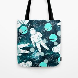 Space Astronaut Tote Bag