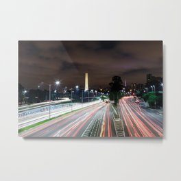 Sao Paulo Obelisk Metal Print