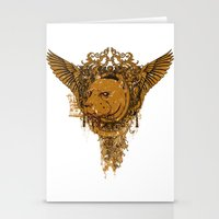 pitbull Stationery Cards featuring Pitbull by Tshirt-Factory
