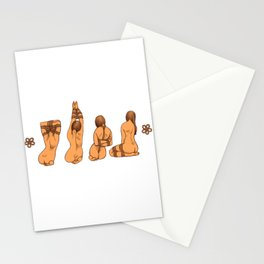 Snare a Rabbit Stationery Cards