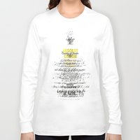 vodka Long Sleeve T-shirts featuring Graphic Vodka  by MarianaLage