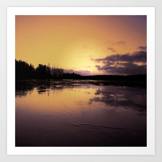 The Radiant Beauty of Nature Art Print