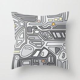 MIN8 Throw Pillow