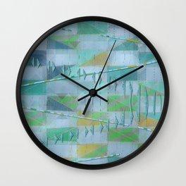 A Light Summer Rain Wall Clock