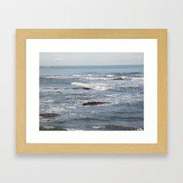 Limonese Waves Framed Art Print