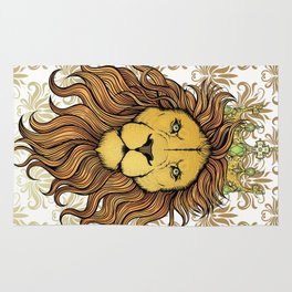 King  Lion Rug