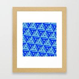 Geometrix 140 Framed Art Print