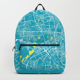 COLOGNE City Map - Germany | Aqua | More Colors, Review My Collections Backpack