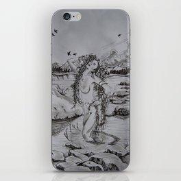 Water Nymph iPhone Skin