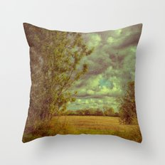Getting Brighter Throw Pillow
