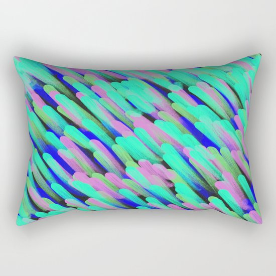 Going In The Same Direction Rectangular Pillow