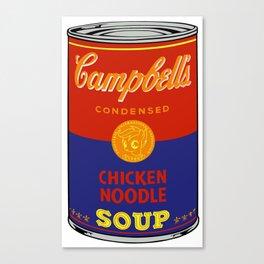 Campbell's scootaloo noodle soup re-color 2 Canvas Print