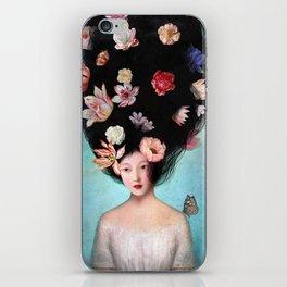 The Botanist's Daughter iPhone Skin