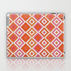Macrame Red Laptop & iPad Skin