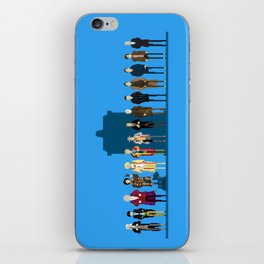 THE DOCTORS WILL SEE YOU NOW iPhone Skin