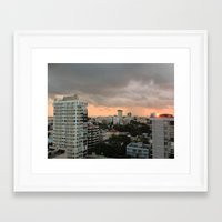buildings Framed Art Prints featuring Buildings by mowiskas