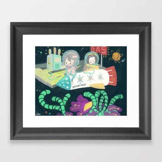 Kuri-prize Framed Art Print