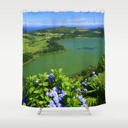 Beautiful day Shower Curtain