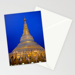Shwedagon Pagoda, Yangoon Myanmar Stationery Cards