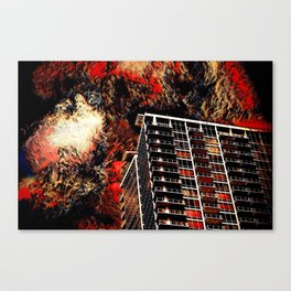 Doomsday Clouds Canvas Print