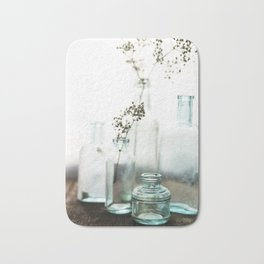 Aqua Glass - Vintage Bath Mat