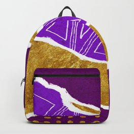 Torn Abstract Art 02 Backpack