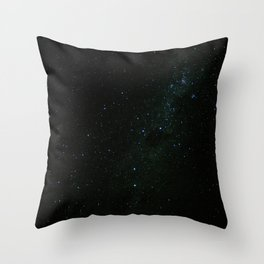 Night at the southern skies III Throw Pillow