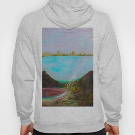 A Boat and a Seamless Sky Hoody