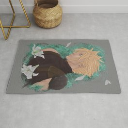 Cloud Strife, May, Lilies Rug