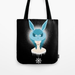 Glaceon Girl Tote Bag
