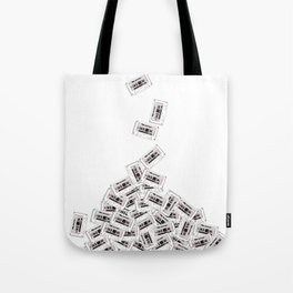 A pile of mixtapes Tote Bag