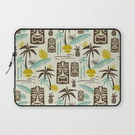Island Tiki - Tan Laptop Sleeve