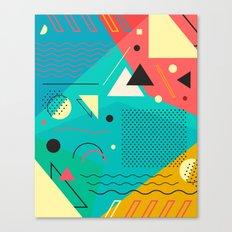 Memphis One Canvas Print